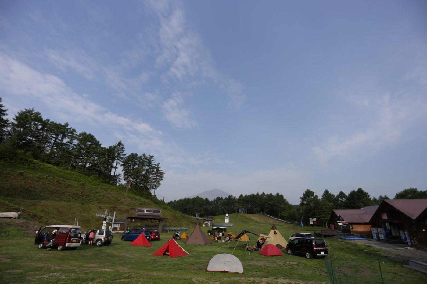 キャンプ場によっては手ぶらでキャンプが出来るようなレンタルセットがあります。