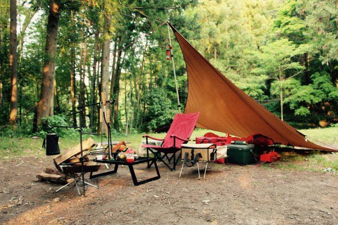 キャンプ道具のレビュー