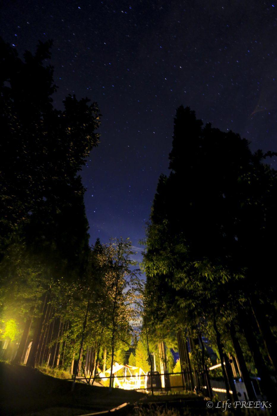 キャンプの夜は思ったよりも寒い