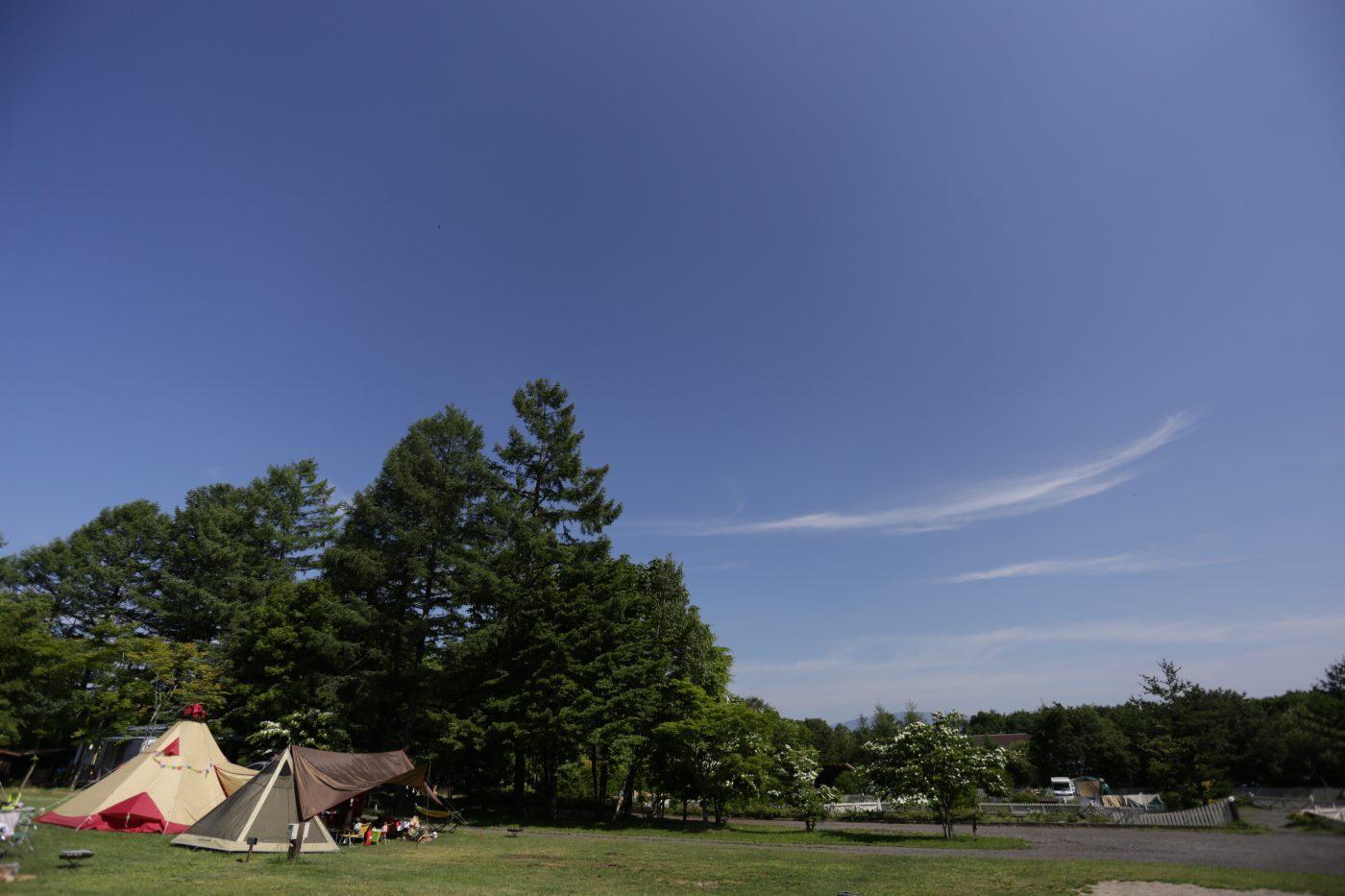 キャンプ道具はレンタルできます。