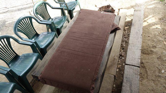 ハイランダーインフレーターマットが1番寝心地が良い