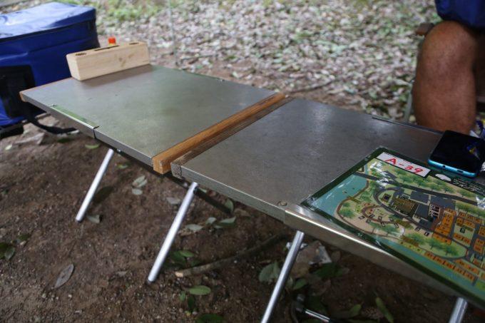 焚き火テーブルはソロキャンプでも使える