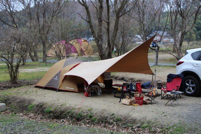 高規格キャンプ場はレンタルや事故等対応してくれます