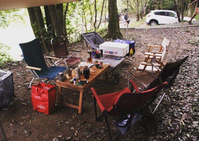 キャンプ行く人数でクーラーボックスの容量を決めよう。
