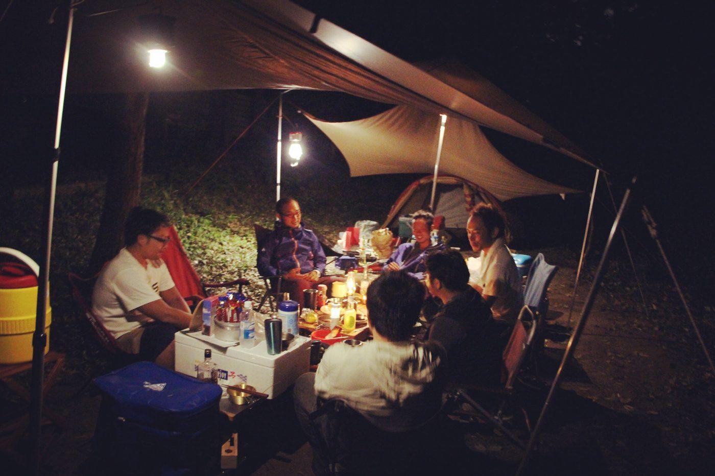 グループキャンプが1番キャンプを始めやすいかも。