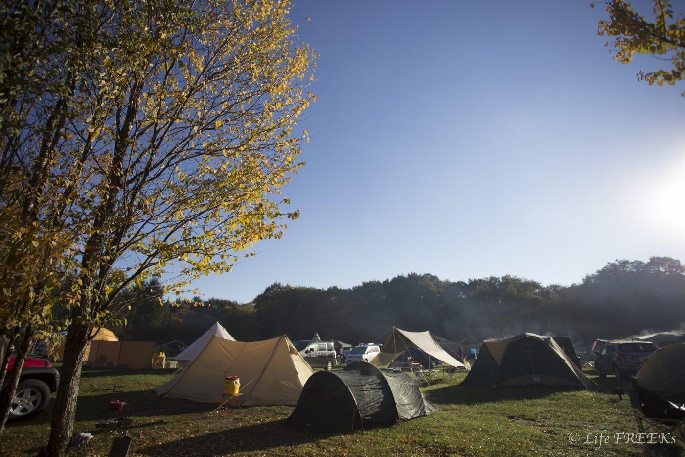 秋キャンプは準備が大事ですが、逆に言えば準備さえしっかりやれば楽しい。