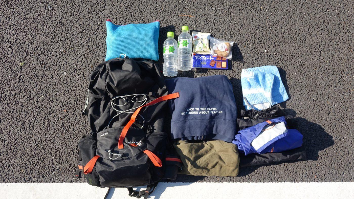 登山初心者向けの道具