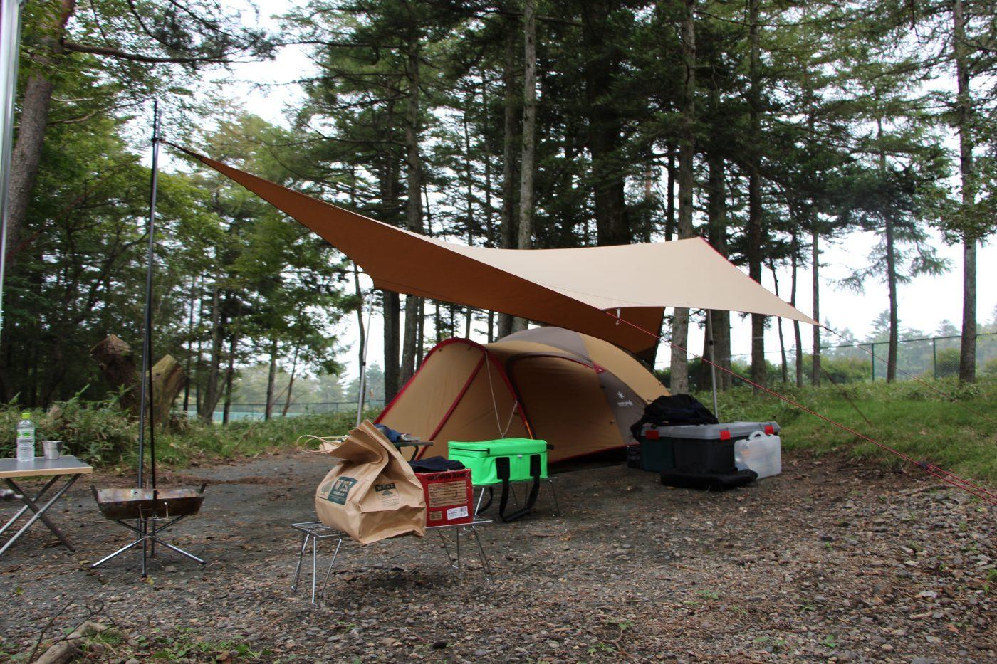 オートキャンプ以外のキャンプもある。