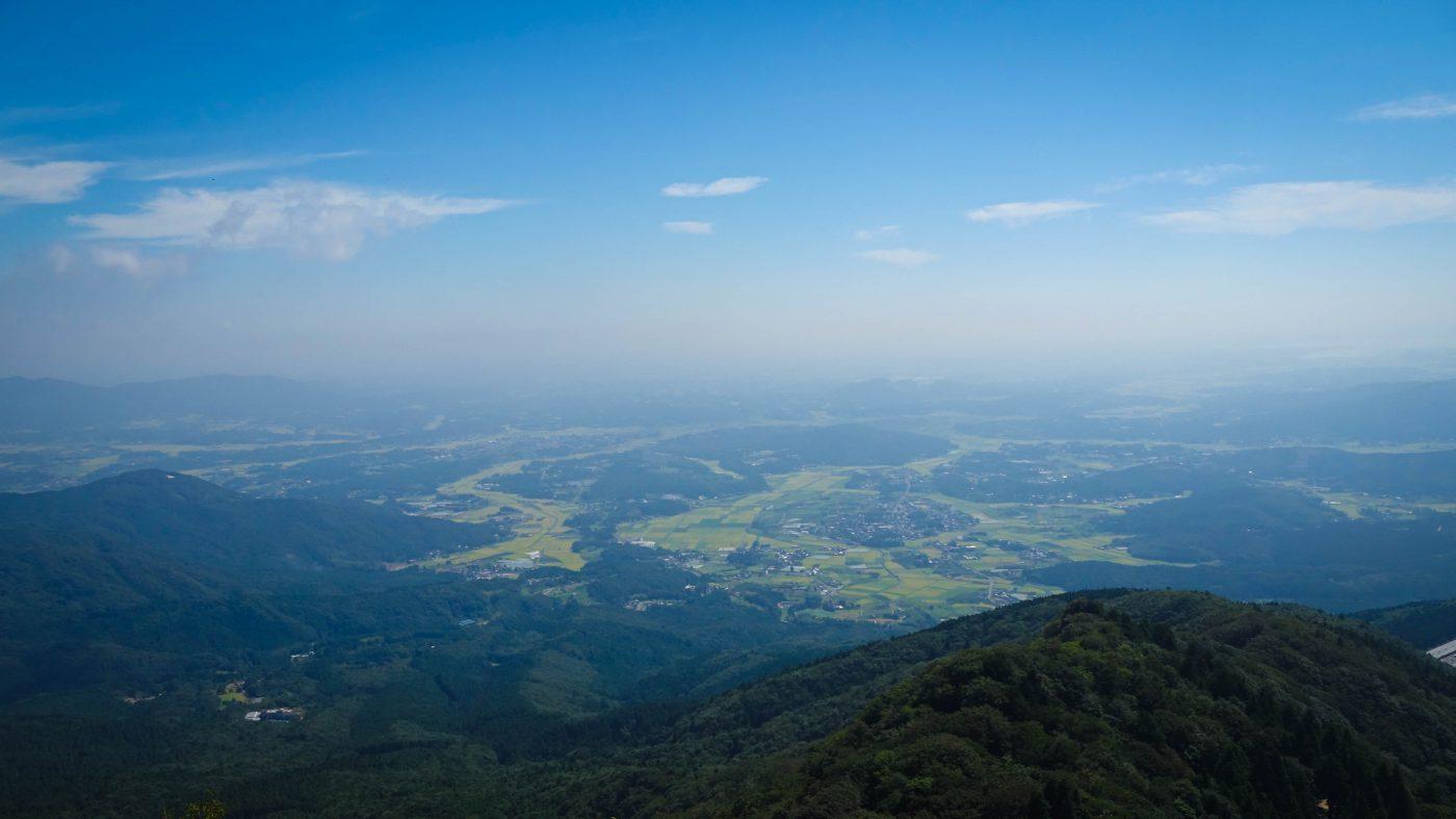 9月の筑波山山頂