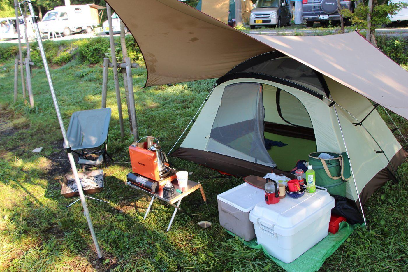 無印の頑丈収納ボックスはキャンプの収納にピッタリ