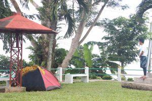 【フィリピンのキャンプ場】旧日本軍がいたキャンプ場。Japanese Shrine