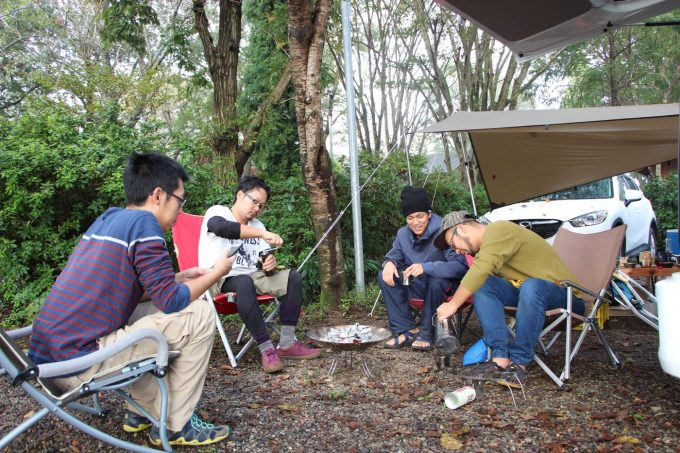 グループキャンプは楽しい