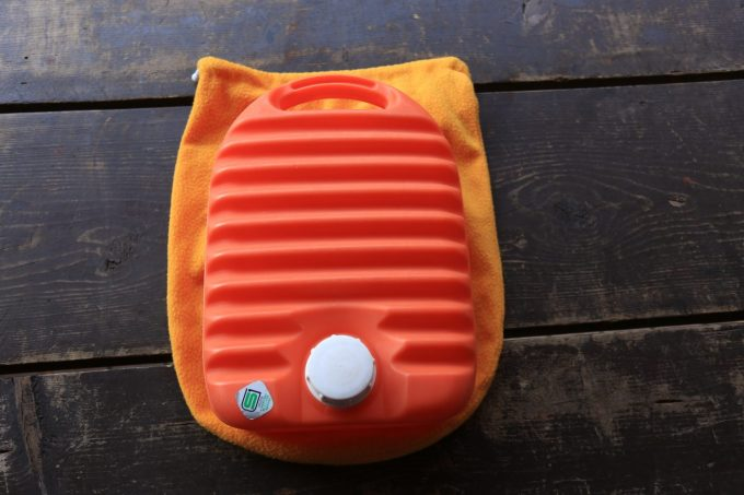 キャンプで使える湯たんぽ