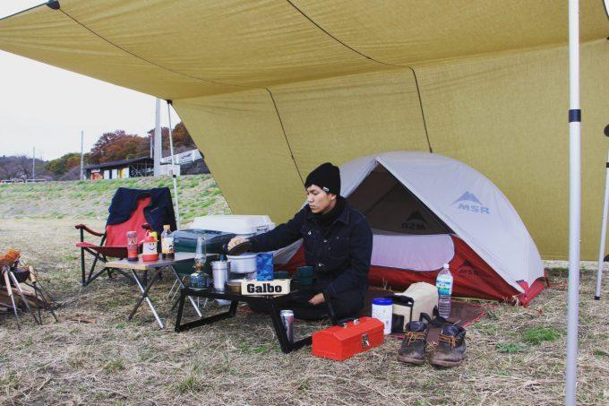 ガルボの冬キャンプ