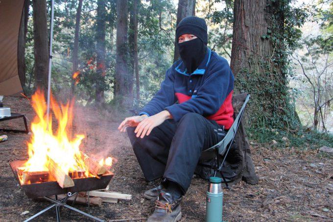 焚き火、ガルボ