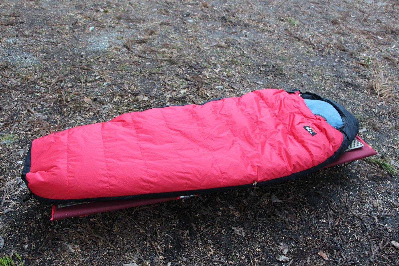 秋冬キャンプでコットを使うならウレタンマットを使おう