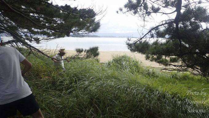 マオリの人とキャンプ10