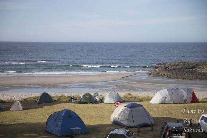 Tapotupotu campsite3