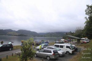 ロトルアから車で15分のキャンプ場。セルフで支払う「Lake Okareka Campsite」