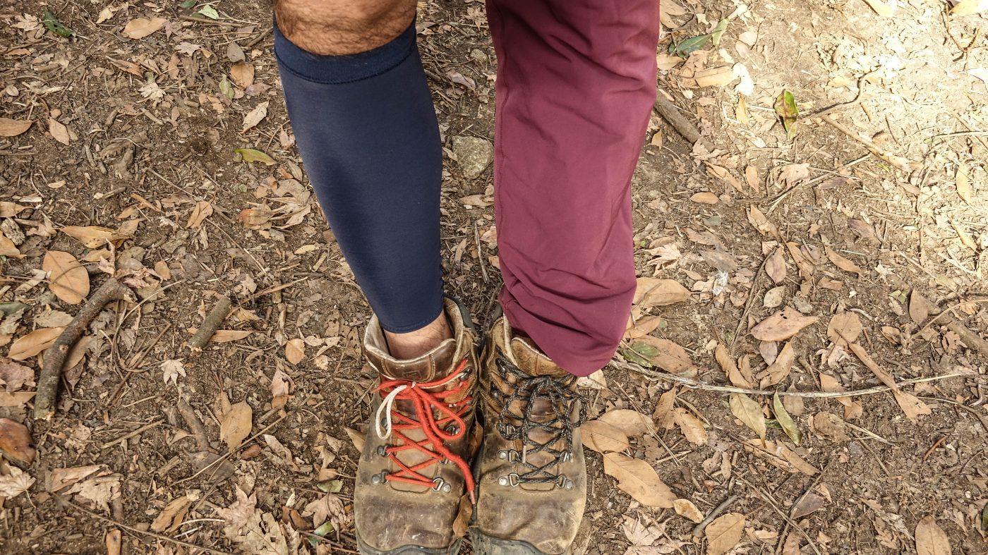 低山を登山するなら運動靴ならなんでも良い