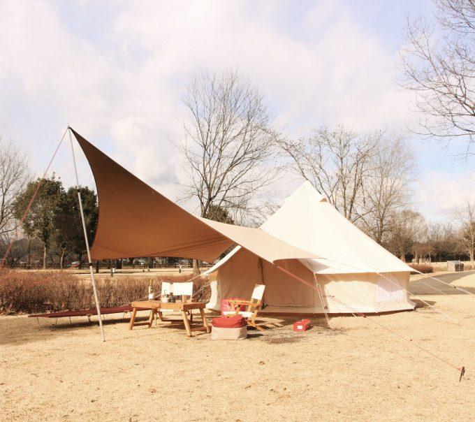 テントとタープのカラーと統一する。