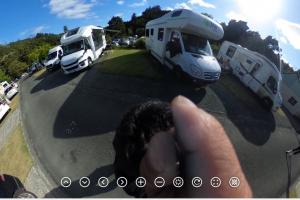 360度カメラで見る!これがニュージーランドのキャンプ場だ!