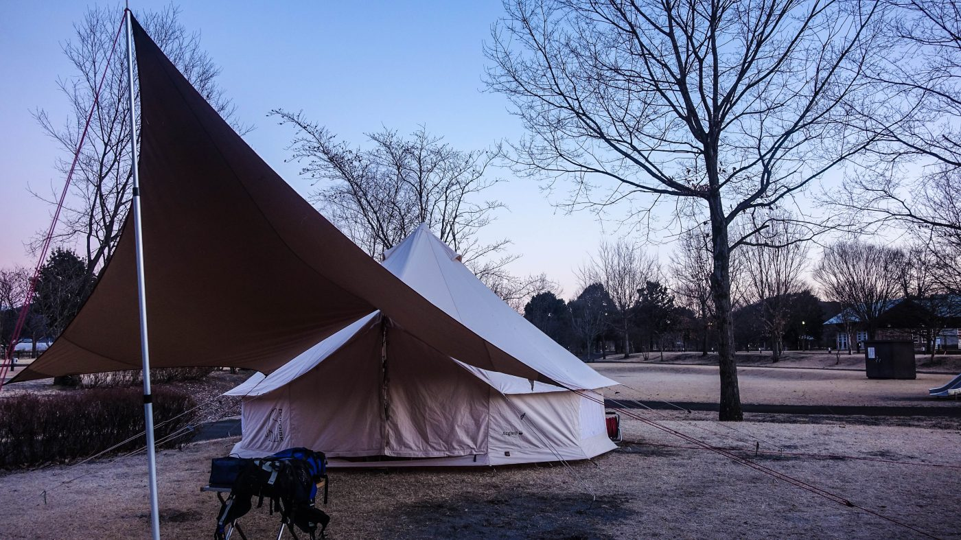 アスガルド12.6は冬キャンプで使えるテント