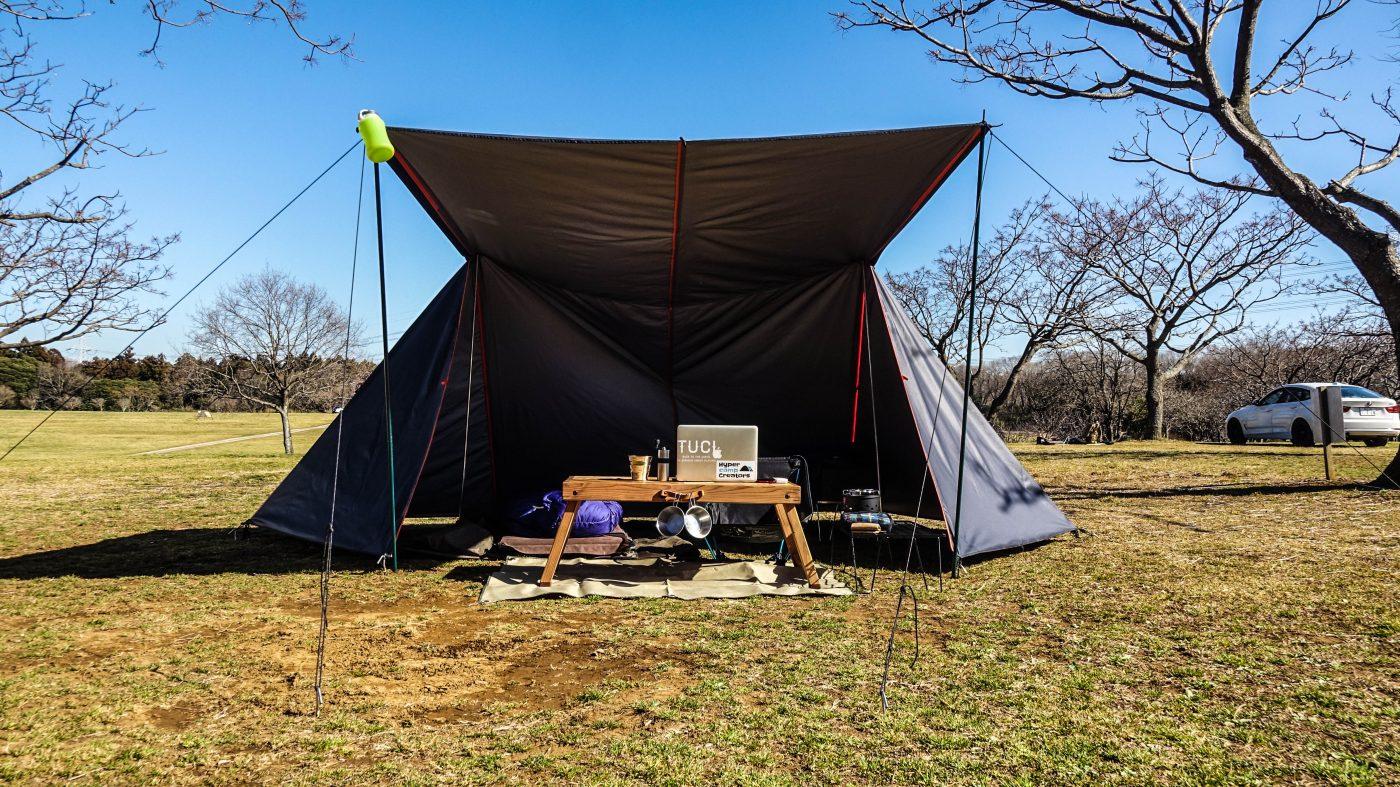 オリジナルのキャンプ道具をつくる年にしたい!