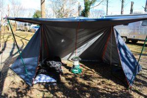 【キャンプの雑談】季節や気温によってテントを替えるという贅沢を発見した。