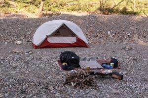 【冬のテント泊】ザックの中身を紹介します。