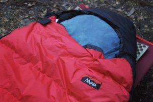 【レビュー】NANGAのオーロラ750DXを1年間使ってみての所感。【冬用寝袋】