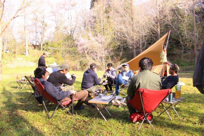 キャンプオフ会 ガルボ会