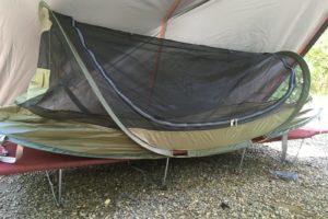 夏のテント泊。虫対策は夜通し行うのがよし!