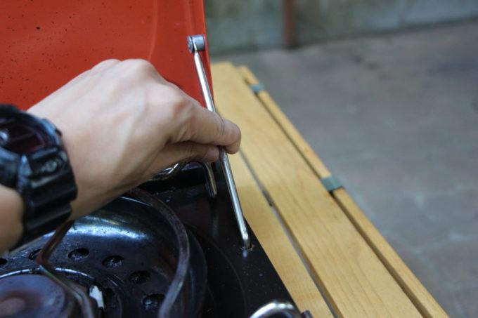 カセットフーマーベラスにはトップカバーの風防とバーナーの周りの風防リングの2つがついている