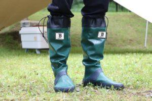 【レビュー】日本野鳥の会のバードウォッチング長靴は履き心地が良くキャンプにちょうどいい長靴