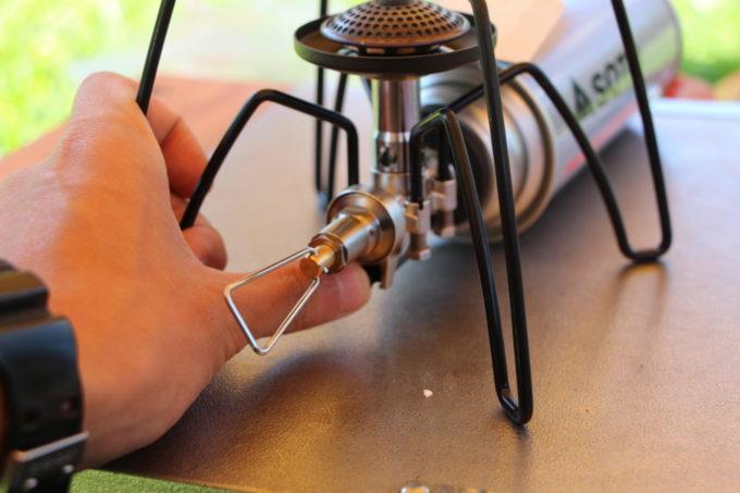 SOTO レギュラーターストーブST-310の点火装置