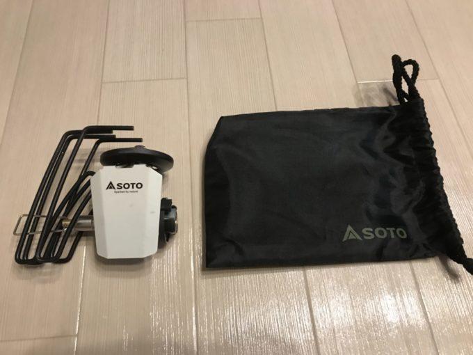 SOTO レギュラーターストーブST-310の収納袋