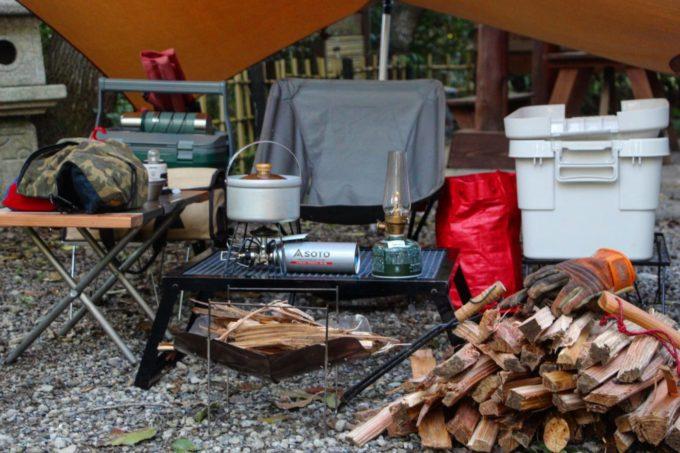 朝焚き火するなら朝早くやらない。薪の量を考えてやろう