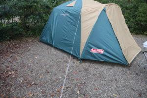 【キャンプ初心者向け】コールマンBCキャノピードームの立て方を可能な限り丁寧に説明してみました。