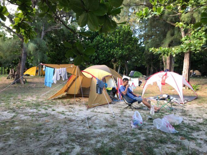沖縄キャンプ