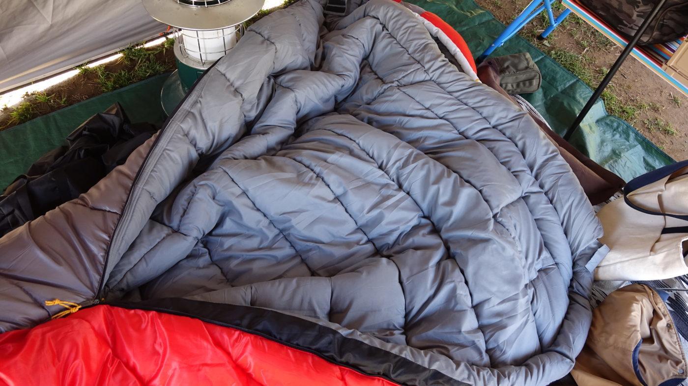 タスマンキャンピングマミーは冬キャンプ最強の寝袋
