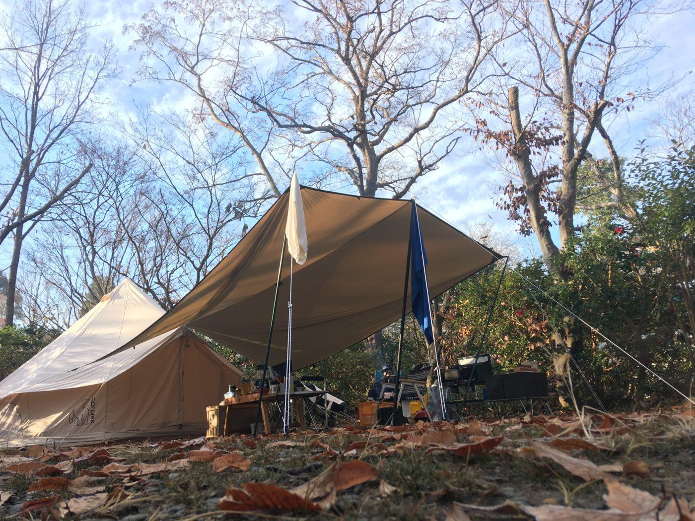 秋冬キャンプは床冷えも大敵なのでマット選びがより重要になってきます。
