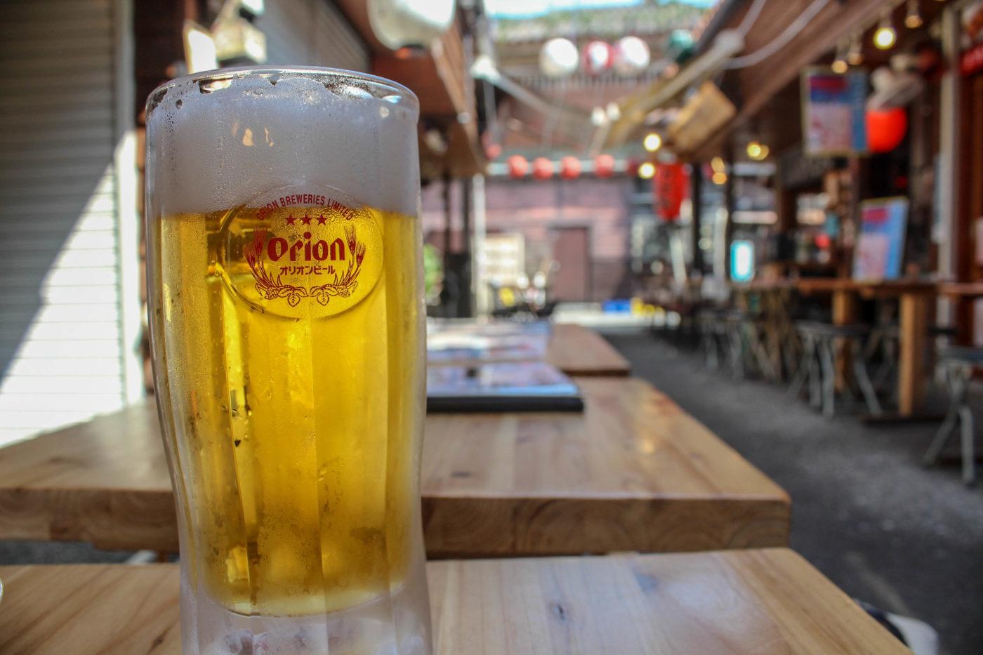到着日、特にやることが無い中での昼間からのビール。旅の醍醐味だと思うんですよね。