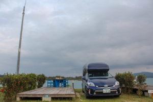 今回沖縄を周るのに借りた車中泊特化型キャンピングカープリウスPHV リラックスキャビン