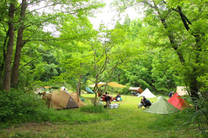 キャンプの始め方