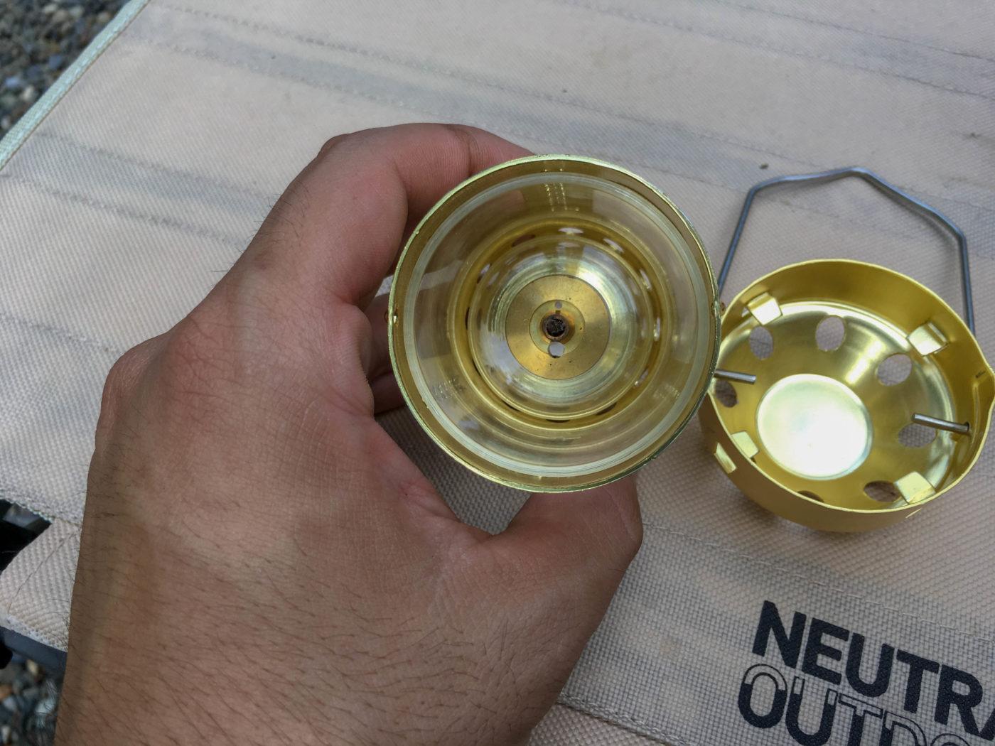 ロゴスキャンドルランタンとルナックスオイルランプ