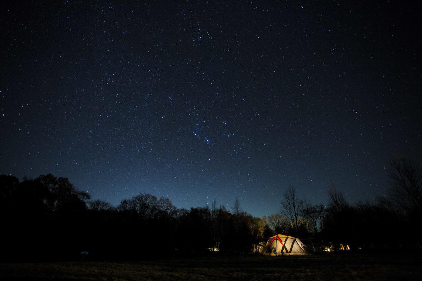 キャンプって寒い時は異常に寒いです
