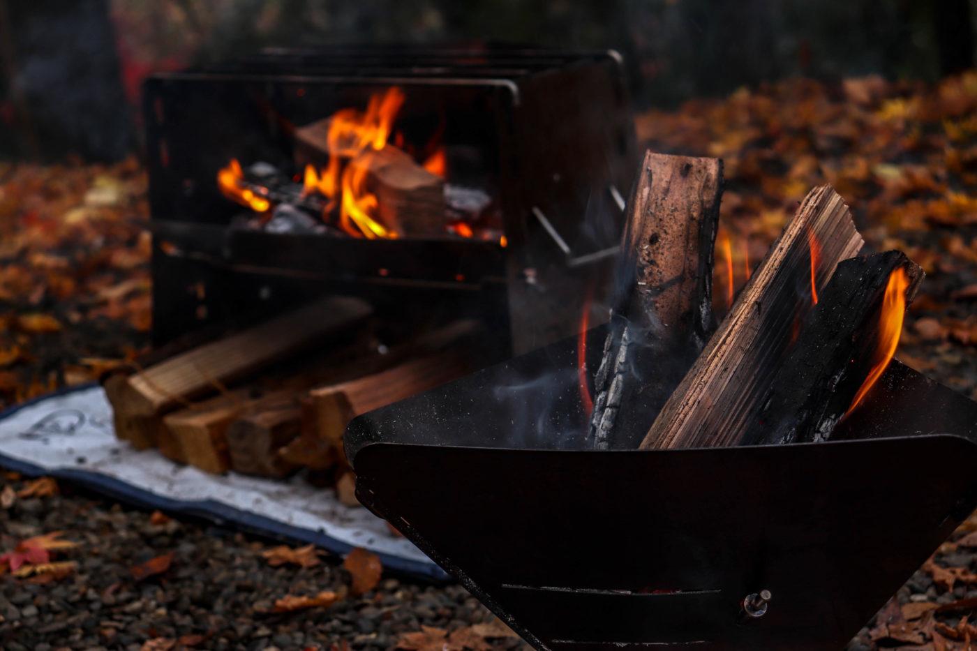 Our'sの焚き火台