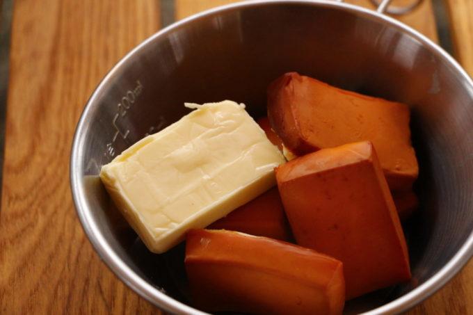 ベビーチーズ燻製