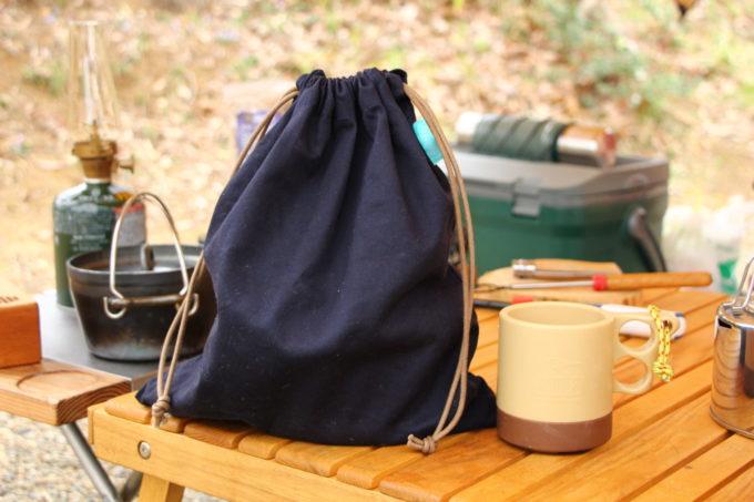 アペルカのテーブルトップスモーカーの収納袋